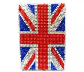 IPad Mini Case, Bling IPad Mini Case, Bling Crystal IPad Mini UK Flag Case,Bling UK Flag IPad Mini Case, British Flag ipad Mini Case