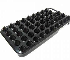 Studded iphone 5 case, iphone 5G case, Spike iphone 5 Punk case, iphone 5G Black Stud Case, Black iphone 5 Case, Plastic iphone 5G Case