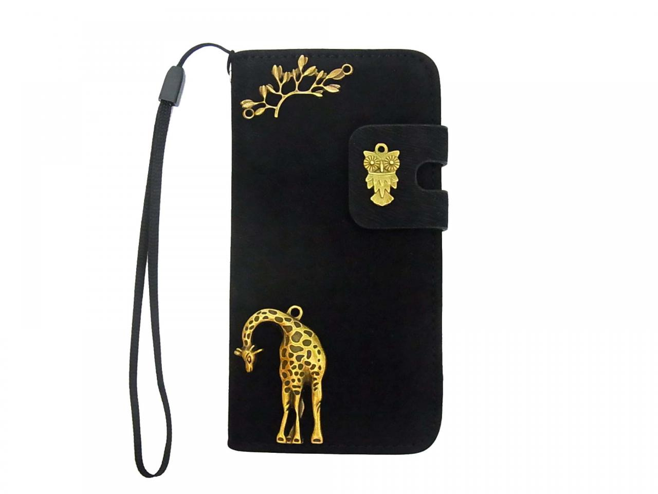 Iphone 5 Wallet Case Tree Iphone Case Giraffe Iphone 5