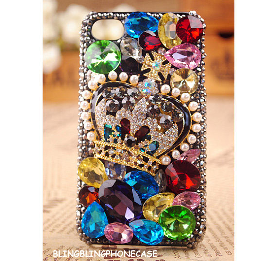 iPhone 5 case,iphone 5G case cover,iphone 5 ase,bling Crystal iphone 5 case, Crown iphone 5G case, Rainbow Crystal iphone 5 case, Crystal Crown iphone 5G case cover, Unique Crystal iphone 5 case,iphone 5s case,bling iphone 5s case,crystal iphone 5s case